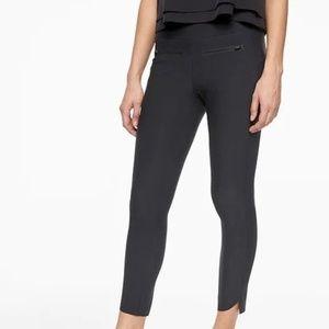 Athleta Stellar Crop Pants size L Black